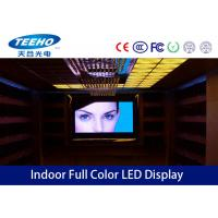 Wholesale SMD Indoor Full Color LED Display Screen With Lightweight Cabinet P7.62 , 17222 Pixels / ㎡ from china suppliers
