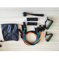 Wholesale 11 Pieces Fitness Latex Resistance Tube Bands Set from china suppliers