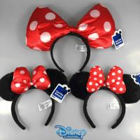 Wholesale Fashion Disney Plush Hairband Headband Hairpin Mickey Mouse Minnie Mouse For Girl from china suppliers