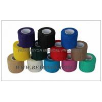 Wholesale Medical Vet Cohesive Flexible Non Woven Bandage / Compression Bandage Knee from china suppliers