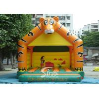 Quality Lovely Blow Up Kids Inflatable Tiger Jumping Castles for kids Inflatable Bouncy Castle Fun for sale