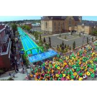 Wholesale 300 Meters Long Air Sealed Giant Inflatable Slide For A Family Fun Day from china suppliers
