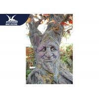 Corrosion Resistance Cartoon Talking Tree High Simulation Garden Plant Statue for sale