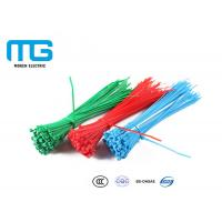 Wholesale Wiring Accessories Nylon Cable Ties Heat Resistance 60mm - 1200mm Total Length from china suppliers