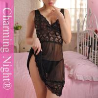 Wholesale 8 Colors Fashion Sexy Women black babydoll Chemise Underwear Lingerie from china suppliers