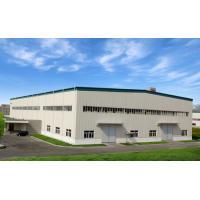 China Portal Steel Structure Warehouse With Single Claddying System At 830# for sale