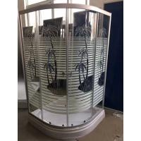 Wholesale Palm Tree Shower Cabin With Tray , Bathroom Corner Shower Enclosures Pop - Up Waste Drain from china suppliers