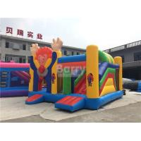 Buy cheap Large Industrial Small Toddler Or Kids Clown Bounce House On Clearance from wholesalers