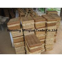 China hot selling hand weaving fashion eco-friendly  picnic basket/storage basket from Guangxi,China for sale