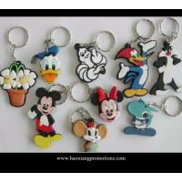 Wholesale custom 2D soft PVC keychain, cheap bulk 3D rubber key rings, plastic keychain from china suppliers