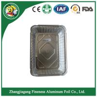 China aluminum foil containers  with lid For Food  kitchen Packaging on sale