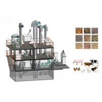 Wholesale Industrial Animal Feed Manufacturing Machines Broiler Chicken Feed Line from china suppliers