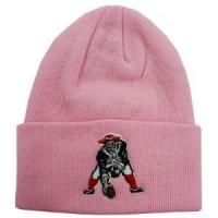 Wholesale New England Patriots Pink Cuffed Winter Hat from china suppliers