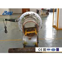 Buy cheap Split Frame Portable Pipe Cold Cutting Machine Various Bevel Type 0.08 Mm/r from wholesalers
