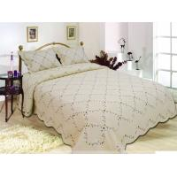 Wholesale Multi Bedcover Sizes Embroidery Quilt Kits With Silky Comfortable Touch from china suppliers