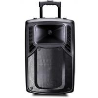 Buy cheap Rechargeable Plastic Portable Trolley Speakers , Portable Active PA Speaker from Wholesalers