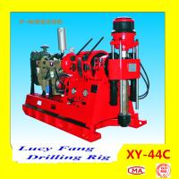 Chinese Hot XY-44C Spindle Type Skid Mounted Powerful Water Well Drilling Rig for sale