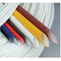 Wholesale Extruded Silicone rubber fiberglass sleeving from china suppliers
