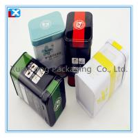 Wholesale empty tinplate rectangle tea tin box /XL-1098 from china suppliers