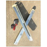 Galvanized Cabinet Drawer Slides , Bottom Mount Drawer Slides Anti Rust for sale
