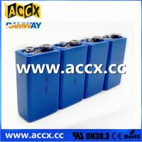 Quality CR9V 850mAh 9v lithium battery for Alarms and security devices for sale