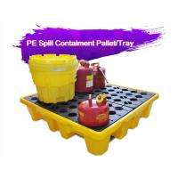 Wholesale Two Drum Spill Decks Containment Pallets Heavy Duty For Oils / Chemicals from china suppliers