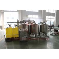 Wholesale Automated Fruit Juice Making Machine With CIP Cleaning System Bottle Washing from china suppliers