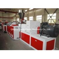 China Kitchen Cabinet Board Plastic Plate Making Machine Compact Structure Easy To Operate on sale