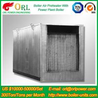 Buy cheap Natural Gas Industry 10 Ton Ponderance 150 MW APH Heating Boiler Air Preheater from wholesalers