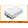 Buy cheap Outdoor 4 Port Fiber Termination Box 1X4 Splitter Box SC/APC For Uncut Cable FTTX from Wholesalers