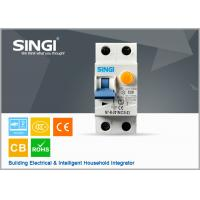 Wholesale 50 / 60Hz IP20 20A Residual current circuit breaker with overcurrent protection from china suppliers