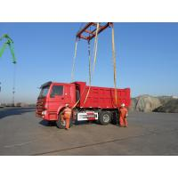 Wholesale HOWO 6 x 4 Hyva Hydraulic Front lift 30t Dump Truck 10 Wheel 336hp / 371hp from china suppliers