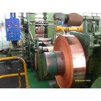 China Industrial Thin Copper Strips / Copper Sheet Metal For PV Ribbon on sale