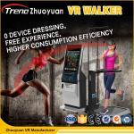Wholesale 800 Watt Shooting Battle Game 9D VR Treadmill Virtual Run VR Walker Simulator from china suppliers
