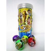 Wholesale The Word Cup Theme healthy hard candy / 6g multi fruit flavor football shape hard candy in jars from china suppliers