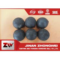 Wholesale No Breakage Grinding Steel Balls for mining and Cement / steel mill media from china suppliers