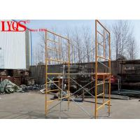 "Wholesale 5' 7""×6'4"" Double Mason Scaffolding Frames High Strength With Powder Coated Surface from china suppliers"