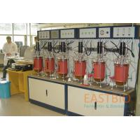 China Multiple Mechanical Stirred Glass Fermenter Lab Scale 4 Peristaltic Pumps for sale