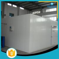 China 20 years experience Glass door Showcase deep freezer cold room trailer on sale