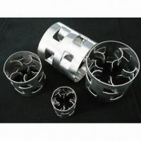 China Metal Pall Rings, Tower Random Packing, Made of SS304/304L/410/316/316L/Carbon Steel on sale