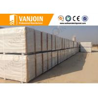 Wholesale Good chemical resistance Sandwich Wall Panels , fireproof concrete wall board from china suppliers
