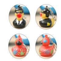 Wholesale Customized Mini Rubber Animal Keychains Monster Duck For Bag BPA Free Vinyl from china suppliers
