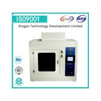China IEC60950 A.5 Hot Flaming Oil Tester for sale