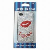 Wholesale Sticker for iPhone 4, Sexy Lips, Safe and Non-toxic from china suppliers