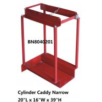 Buy cheap Narrow Type Compressed Gas Cylinder Storage Racks With Chain Divider / Lockable from wholesalers
