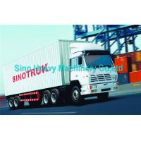 Wholesale SINOTRUK STEYR 30 Ton Manual Prime Mover Truck 6X4 Tractor Diesel in Green , Color Can Be Selected from china suppliers