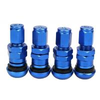 Wholesale Aluminum Alloy Metal Car Tire Valve Caps Direct Screw - On Easy To Install from china suppliers