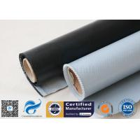 Quality 530g E-Glass Silicone Coated Fiberglass Cloth For Electrical Insulation Cover for sale