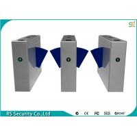 Quality Stainless Steel Turnstile Gates, Pedestrian Flap Barrier Gate System for sale