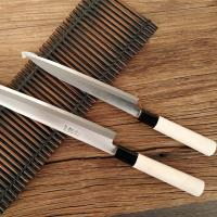 Wholesale Stainless Steel Body Japanese Kitchenware Sushi Knife With Wooden Handle from china suppliers
